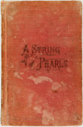Books:Religion & Theology, [Mormonism]. [George Q. Cannon]. String of Pearls. Second Book of the Faith-Promoting Series. Salt Lake City: Ju...