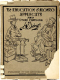 """Books:Art & Architecture, [Political Cartoons]. [Jay Norwood """"Ding"""" Darling]. The Education of Alonzo Applegate and Other Cartoons by J. N. Ding. ..."""