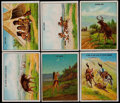 "Non-Sport Cards:Singles (Pre-1950), 1910 T73 Hassan ""Indian Life in the 1860's"" Complete Set (50)...."