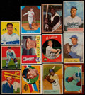 Baseball Cards:Lots, 1935-72 Multi-Brand Baseball Collection (109)....