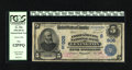 National Bank Notes:Kentucky, Lexington, KY - $5 1902 Date Back Fr. 596 The First & City NBCh. # (S)906. Pink stamped signatures are a highlight of t...
