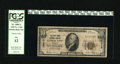 National Bank Notes:Missouri, Kansas City, MO - $10 1929 Ty. 1 The Stock Yards NB Ch. # 10413.This is a well-circulated example from this popular cat...