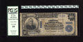 National Bank Notes:Virginia, Norfolk, VA - $10 1902 Plain Back Fr. 627 The Virginia NB Ch. #9885. This is one of only three $10 1902 Plain Backs in ...