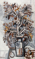 Post-War & Contemporary:Contemporary, David Bates (b. 1952). Still Life - Winter, 2010-2011. Oilon panel. 80 x 48 inches (203.2 x 121.9 cm). Signed lower lef...