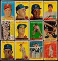 Baseball Cards:Lots, 1958 Topps Baseball Collection (241) With Stars. ...