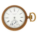 Timepieces:Pocket (post 1900), E. Howard & Co. 15 Jewel Series VII Pocket Watch. ...