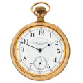 Timepieces:Pocket (post 1900), E. Howard & Co. Series XII Pocket Watch For Repair. ...
