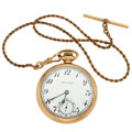 Timepieces:Pocket (post 1900), South Bend 15 Jewel Open Face Pocket Watch. ...