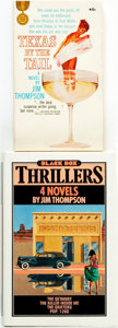 Books:Pulps, Jim Thompson. Pair of Titles. Includes: 4 Novels. London: ABlack Box Thriller from Zoomba Books, [1983]. First comb... (Total:2 Items)