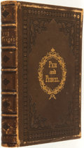 Books:Literature Pre-1900, [Mary] Balmanno. Pen and Pencil. New York: D. Appleton &Co., 1858....