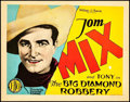 "Movie Posters:Western, The Big Diamond Robbery (FBO, 1929). Title Lobby Card (11"" X 14"").. ..."