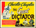 """Movie Posters:Comedy, The Great Dictator (United Artists, 1940). Title Lobby Card (11"""" X14"""").. ..."""
