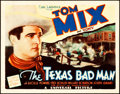 """Movie Posters:Western, The Texas Bad Man (Universal, 1932). Title Lobby Card (11"""" X 14"""")....."""