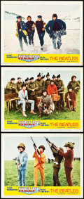 "Movie Posters:Rock and Roll, Help! (United Artists, 1965). Lobby Cards (3) (11"" X 14"").. ...(Total: 3 Items)"