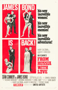 """Movie Posters:James Bond, From Russia with Love (United Artists, 1964). One Sheet (27"""" X 41"""")Style B.. ..."""