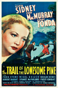 """Movie Posters:Drama, The Trail of the Lonesome Pine (Paramount, 1936). One Sheet (27"""" X41"""").. ..."""
