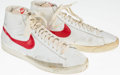 Basketball Collectibles:Others, 1970's Tom Van Arsdale Game Worn Shoes....