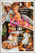 "Movie Posters:Adult, Girls of the Night (Miracle Films, 1984). One Sheet (27"" X 41""). Adult.. ..."