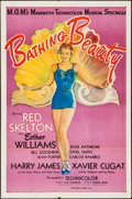 """Movie Posters:Musical, Bathing Beauty (MGM, 1944). One Sheet (27"""" X 41""""). Musical.. ..."""