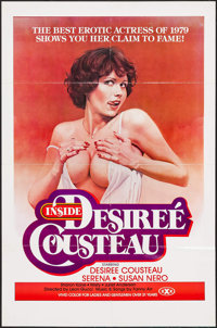 """Inside Desiree Cousteau (Gail, 1979). One Sheet (25"""" X 37.75""""). Adult"""