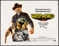 "Movie Posters:Science Fiction, Westworld (MGM, 1973). Half Sheet (22"" X 28""). Science Fiction....."