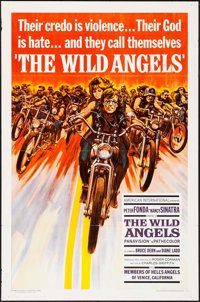 "The Wild Angels (American International, 1966). One Sheet (27"" X 41""). Exploitation"
