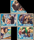 "Movie Posters:Action, Air Hawks (Columbia, 1935). Lobby Cards (3) (11"" X 14""). Action..... (Total: 3 Items)"