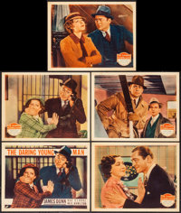 """The Daring Young Man (Fox, 1935). Title Lobby Card & Lobby Cards (4) (11"""" X 14""""). Comedy. ... (Total: 5 It..."""