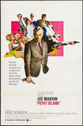 "Movie Posters:Crime, Point Blank (MGM, 1967). International One Sheet (27"" X 41""). Crime.. ..."