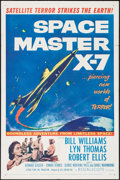 """Movie Posters:Science Fiction, Space Master X-7 (20th Century Fox, 1958). One Sheet (27"""" X 41"""").Science Fiction.. ..."""