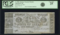 Obsoletes By State:Arkansas, Little Rock, AR - Arkansas Treasury Warrant $5 Dec. 24, 1864 Cr. 50B, Rothert 392-3. PCGS Very Fine 25.. ...