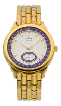 "Timepieces:Wristwatch, Corum ""Almanah"" Fine 18k Gold Limited Edition Automatic, circa1991. ..."