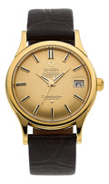 Timepieces:Wristwatch, Omega Gold Constellation Automatic Chronometer, circa 1958. ...