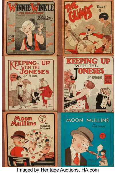 Cartoons Comic Strips Six Volumes Of Collected Comic Strips Lot 93140 Heritage Auctions