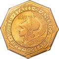 Commemorative Gold, 1915-S $50 Panama-Pacific 50 Dollar Octagonal MS65 PCGS Secure. CAC....