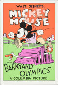 """Movie Posters:Animation, Barnyard Olympics & Other Lot (Circle Fine Arts, R-1980s). FineArt Serigraphs (4) (21"""" X 30.75"""" & 22.5"""" X 31""""). Animation....(Total: 4 Items)"""