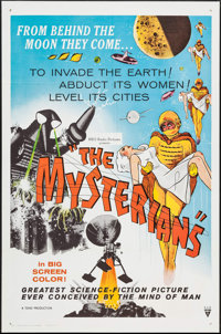 """The Mysterians (RKO, 1959). One Sheets (2) (27"""" X 41""""). Science Fiction. ... (Total: 2 Items)"""