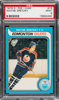 Hockey Cards:Singles (1970-Now), 1979 O-Pee-Chee Wayne Gretzky #18 PSA Mint 9 - Only One Higher....