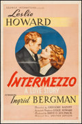 "Movie Posters:Romance, Intermezzo (United Artists, 1939). One Sheet (27"" X 41""). Romance.. ..."