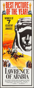 "Movie Posters:Academy Award Winners, Lawrence of Arabia (Columbia, 1962). Insert (14"" X 36"") AcademyAward Style B. War.. ..."