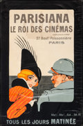 "Movie Posters:Miscellaneous, Parisiana: The King of Cinemas (Parisiana, 1914). French Advertising Poster (30.5"" X 46""). Miscellaneous.. ..."