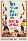 "Movie Posters:Elvis Presley, Viva Las Vegas (MGM, 1965). Argentinean One Sheet (29"" X 43"").Elvis Presley. Alternate Title: Love in Las Vegas.. ..."