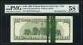 Error Notes:Ink Smears, Fr. 2175-B $100 1996 Federal Reserve Note. PMG Choice About Unc 58EPQ.. ...