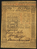 Colonial Notes:Pennsylvania, Pennsylvania October 1, 1773 50s About New.. ...