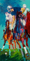 Fine Art - Painting, American:Contemporary   (1950 to present)  , LeRoy Neiman (American, 1921-2012). Blind Brook Polo, 1965.Oil on panel. 23-3/4 x 11-3/4 inches (60.3 x 29.8 cm) (sight...