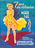 "Movie Posters:Comedy, The Seven Year Itch (20th Century Fox, 1955). Full-Bleed FrenchGrande (45.5"" X 63"").. ..."