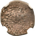 Colonials, 1662 2PENCE Oak Tree Twopence, Small 2, MS61 NGC. CAC. Noe-31, W-240, Salmon 1-A, High R.6....