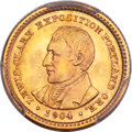 Commemorative Gold, 1904 G$1 Lewis and Clark Gold Dollar MS67 PCGS....