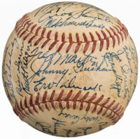 Circa 1951 St. Louis Cardinals Team Signed Baseball (42 Signatures)