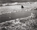 Photographs:Gelatin Silver, Morley Baer (American, 1916-1995). Double Surf, 1966.Gelatin silver, printed later. 7-3/8 x 9-1/4 inches (18.7 x 23.5c...